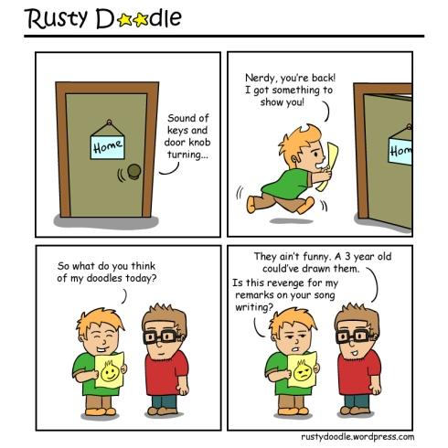 Rusty Doodle Comic Strip