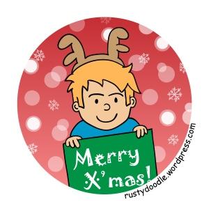 Rusty Doodle: Christmas Greeting