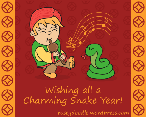 Cartoon Chinese New Year Greeting