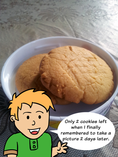 Rusty Doodle Makes Butter Cookies