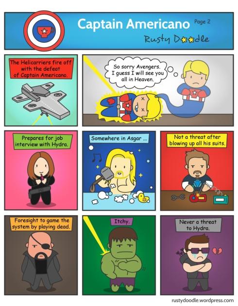 captain america avengers spoof part 2