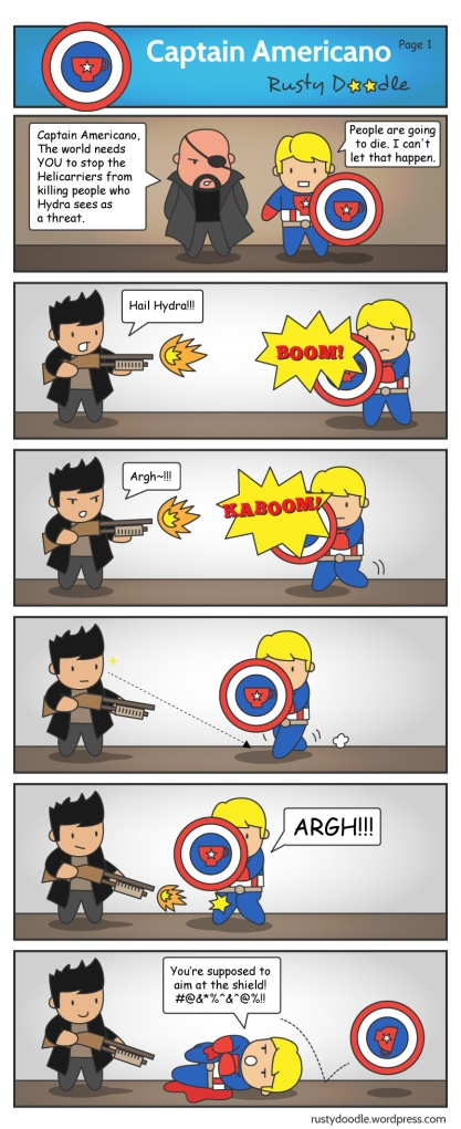 captain america spoof part 1