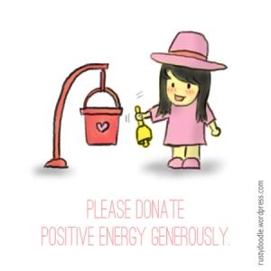 Donate Positive Energy