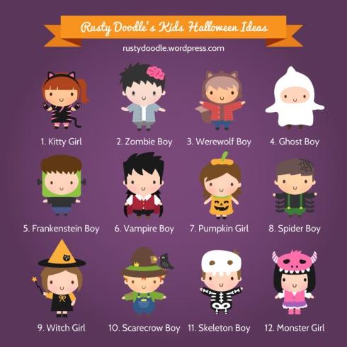 Rusty Doodle Kids Halloween Costumes Design
