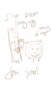 Sketch on Phone